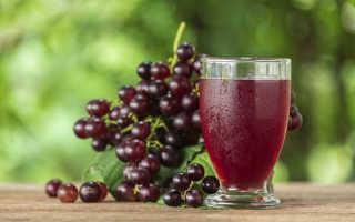 Виноградный сок: польза и вред