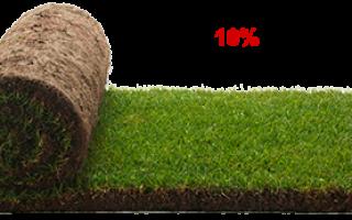 Производство рулонных газонов, продажа, укладка рулонного газона