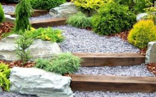 Типы и виды мощения дорожек и территории в саду и на участке