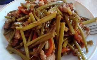 Готовим чесночные стрелки: рецепты блюд, замороженные, жареные