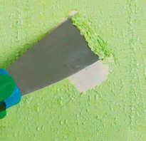 Описание методов по снятию старой краски со стен из разного материала