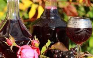 Как приготовить наливку из черноплодки: особенности приготовления