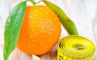 Употребление мандаринов при похудении