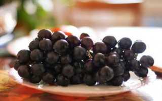 Как сохранить виноград на зиму в домашних условиях?