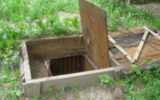 Как построить погреб на даче?