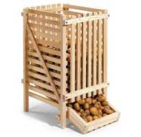 При какой температуре хранить картофель в квартире