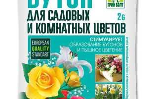 Регуляторы роста растений: инструкция по применению стимулятора цветения бутон